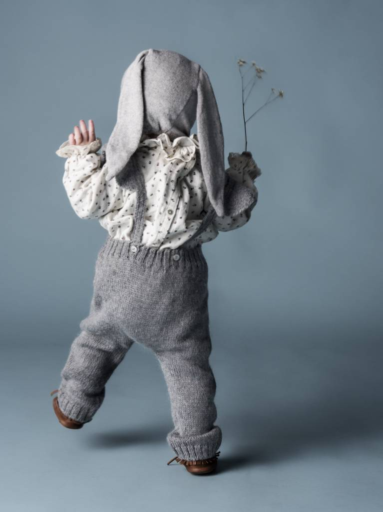 Jumpsuit Knitted Grey-4