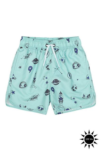 Swim pants Ocean Wave, AOP Space Swim