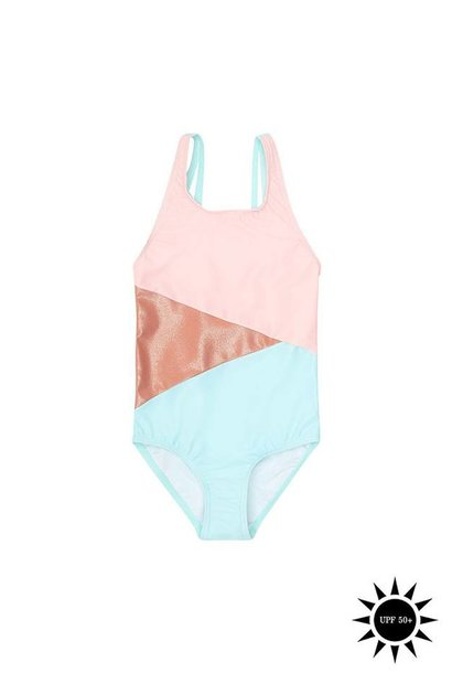 Swimsuit Darlin, Block Swim Girl