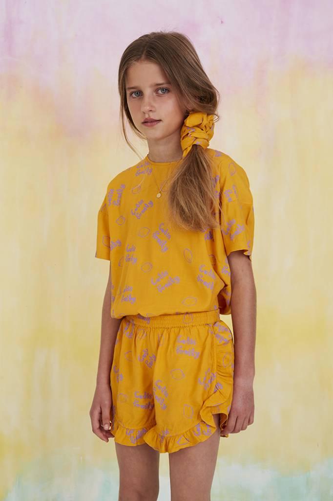 Broekje Sunflower, AOP Lemon-3