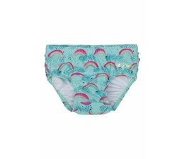Soft Gallery  Swimpants Mina, Blue Tint, AOP Rainbow