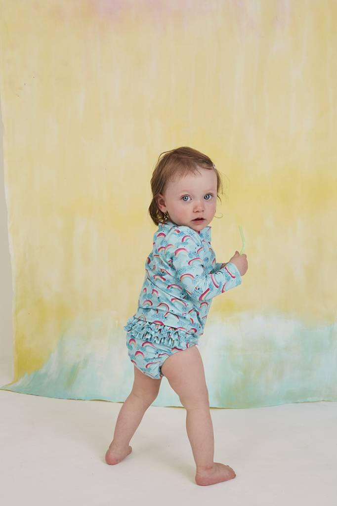 Swimpants Mina, Blue Tint, AOP Rainbow-4