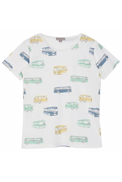 T-Shirt Ecru Bus