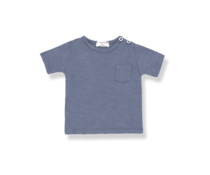 1 + in the family T-Shirt Domenico Indigo