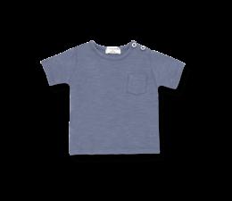 1 + in the family T-Shirt Domenico Indigo