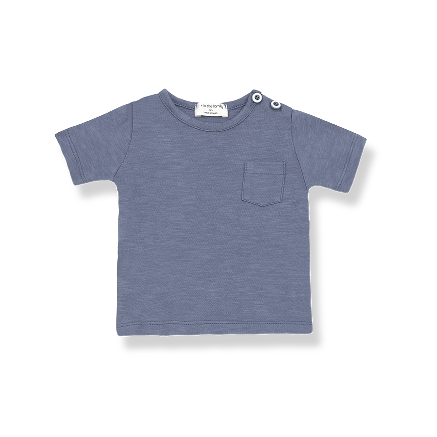 T-Shirt Domenico Indigo-1