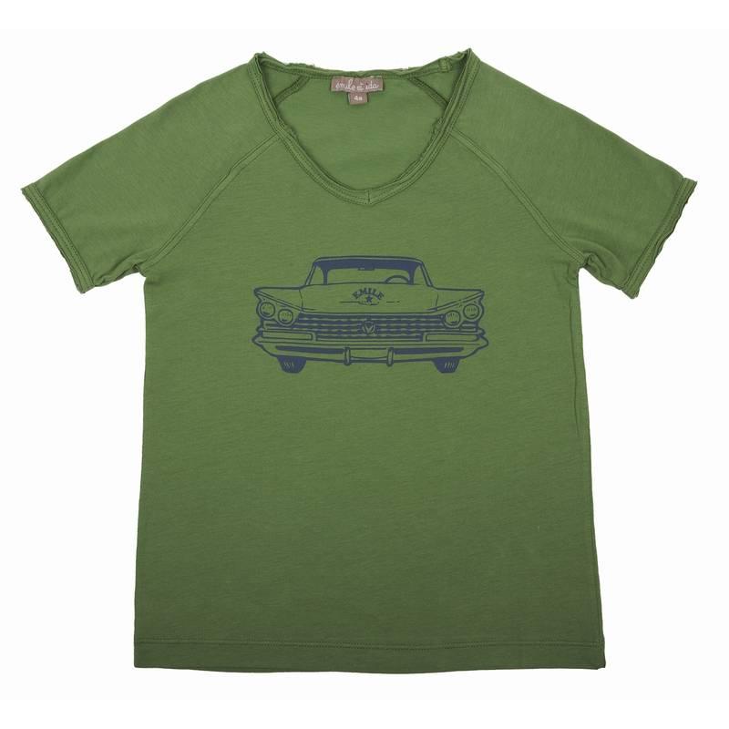 T-shirt Green Chevrolet-1