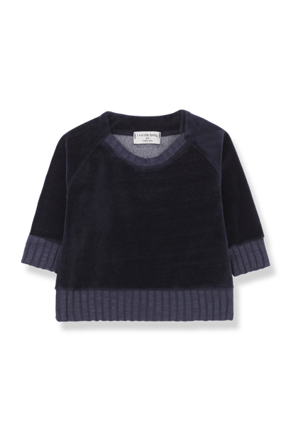Sweatshirt Rhodes Dark Blue
