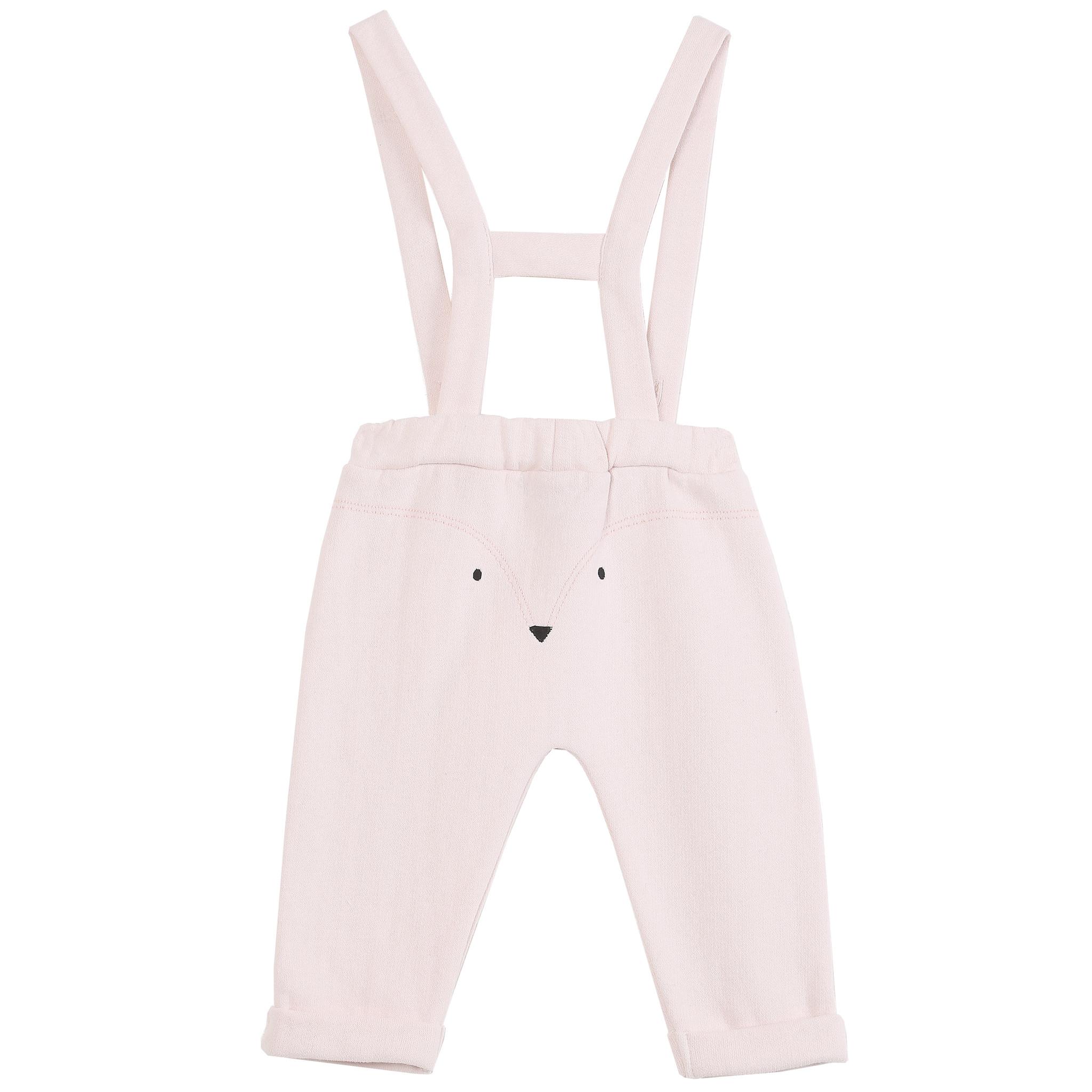 Pants Duffle Rose-1
