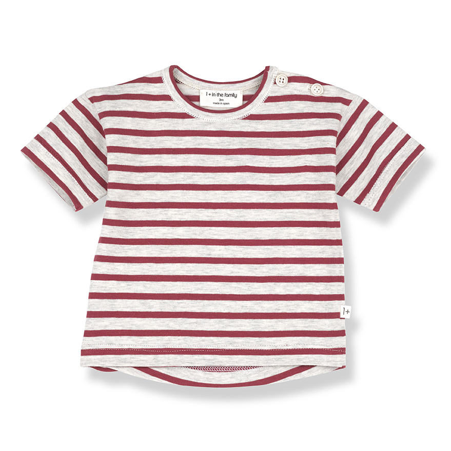 T-shirt Vence Red-1