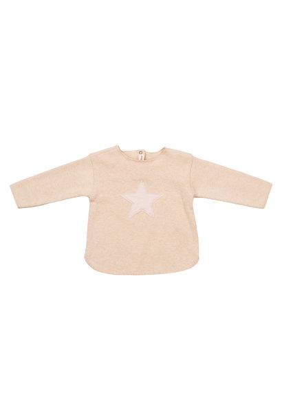 Sweater Ecru Stella Polvere