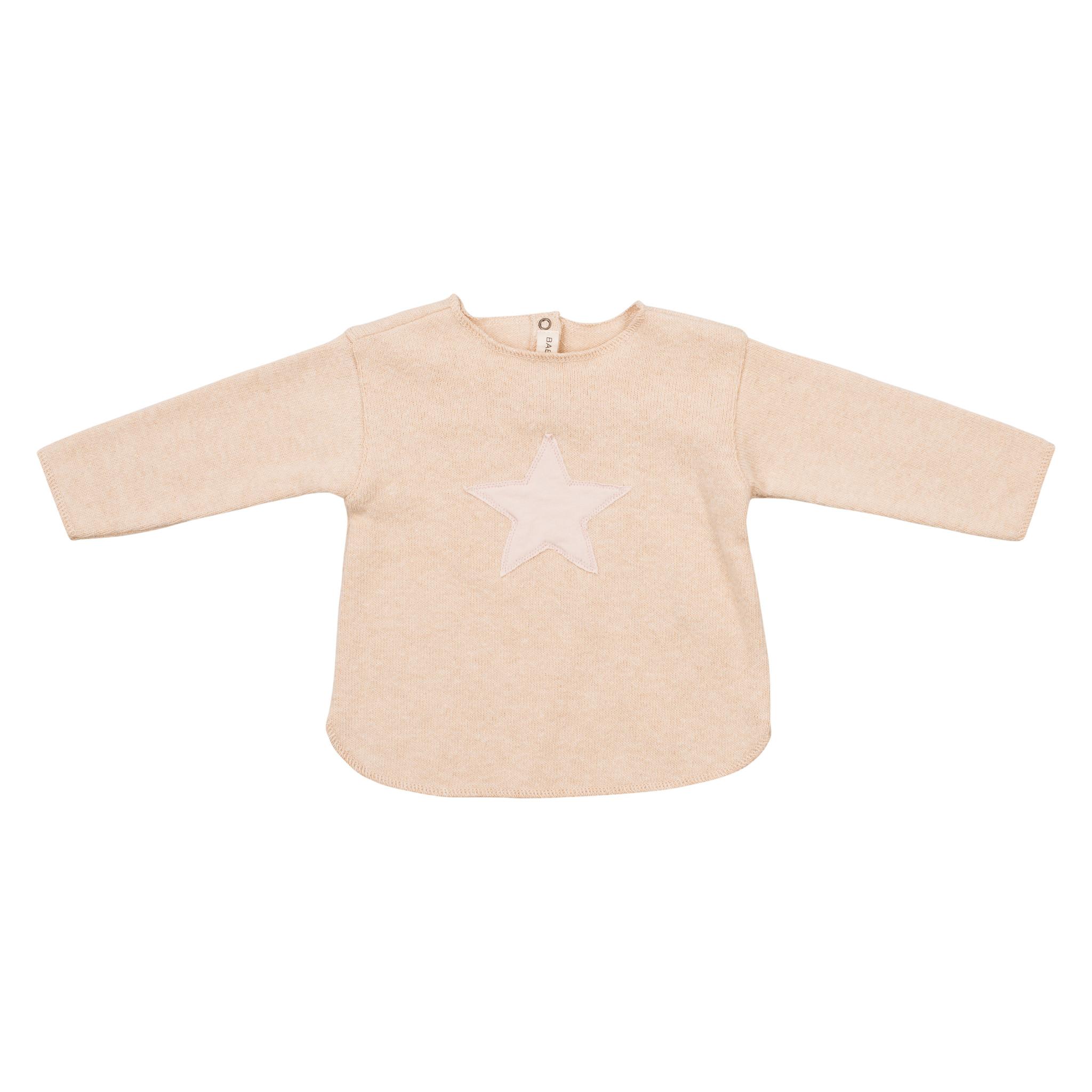 Sweater Ecru Stella Polvere-1