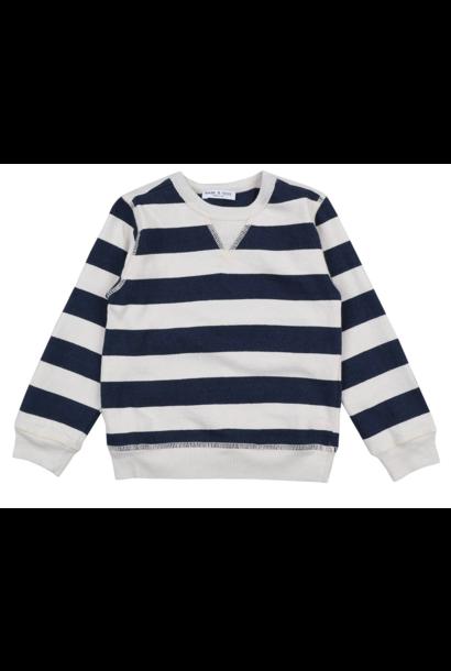Sweatshirt Felpa Naturale Indigo