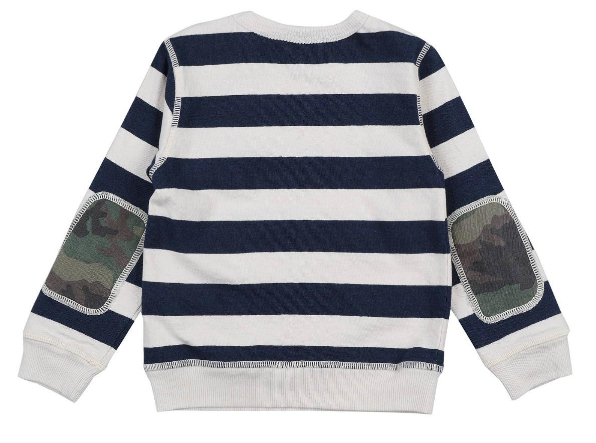 Sweatshirt Felpa Naturale Indigo-2