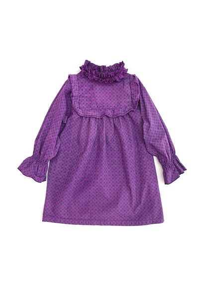 Dress Volant Purple