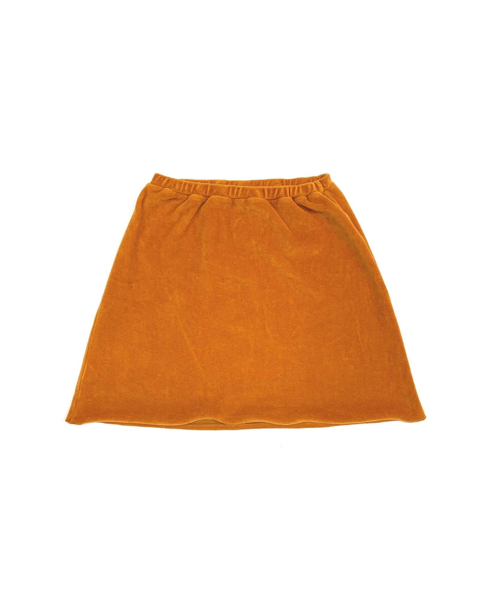 Skirt Velvet Inca Gold-1
