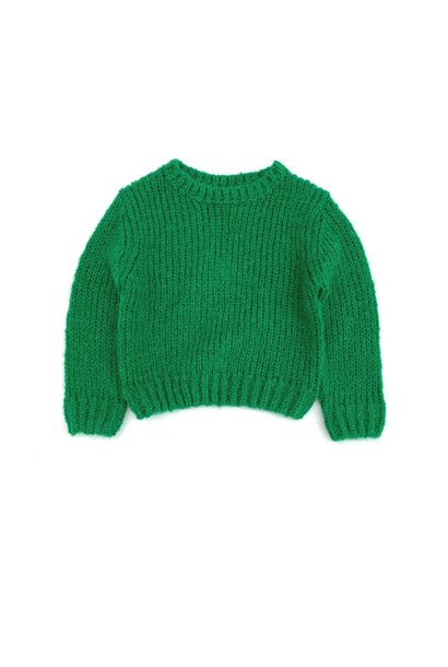 Sweater Rough Green