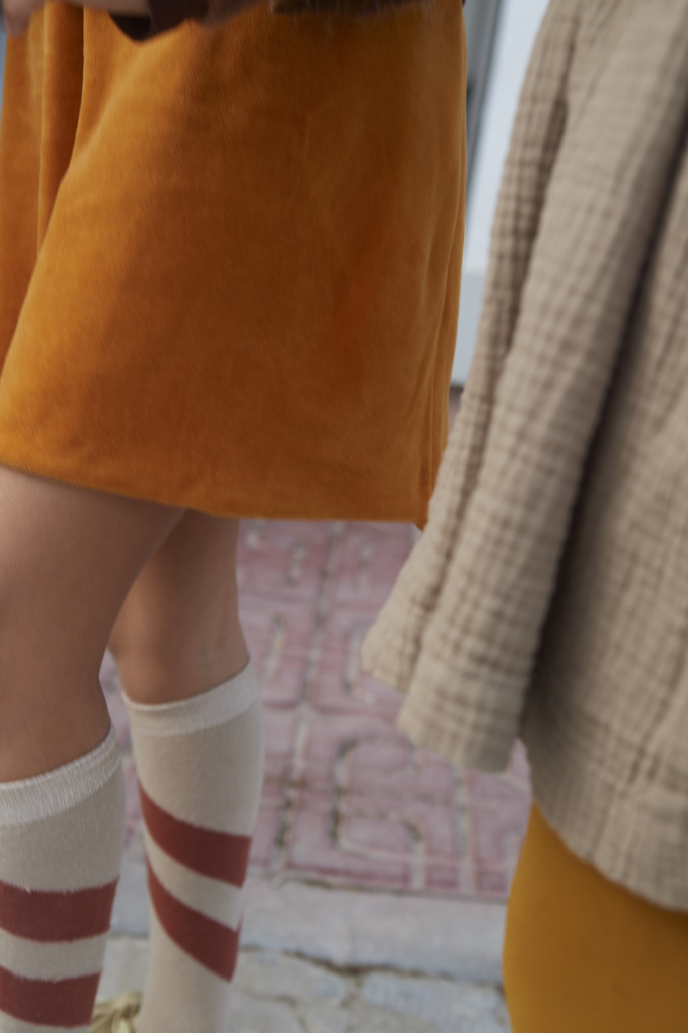 Skirt Velvet Inca Gold-3