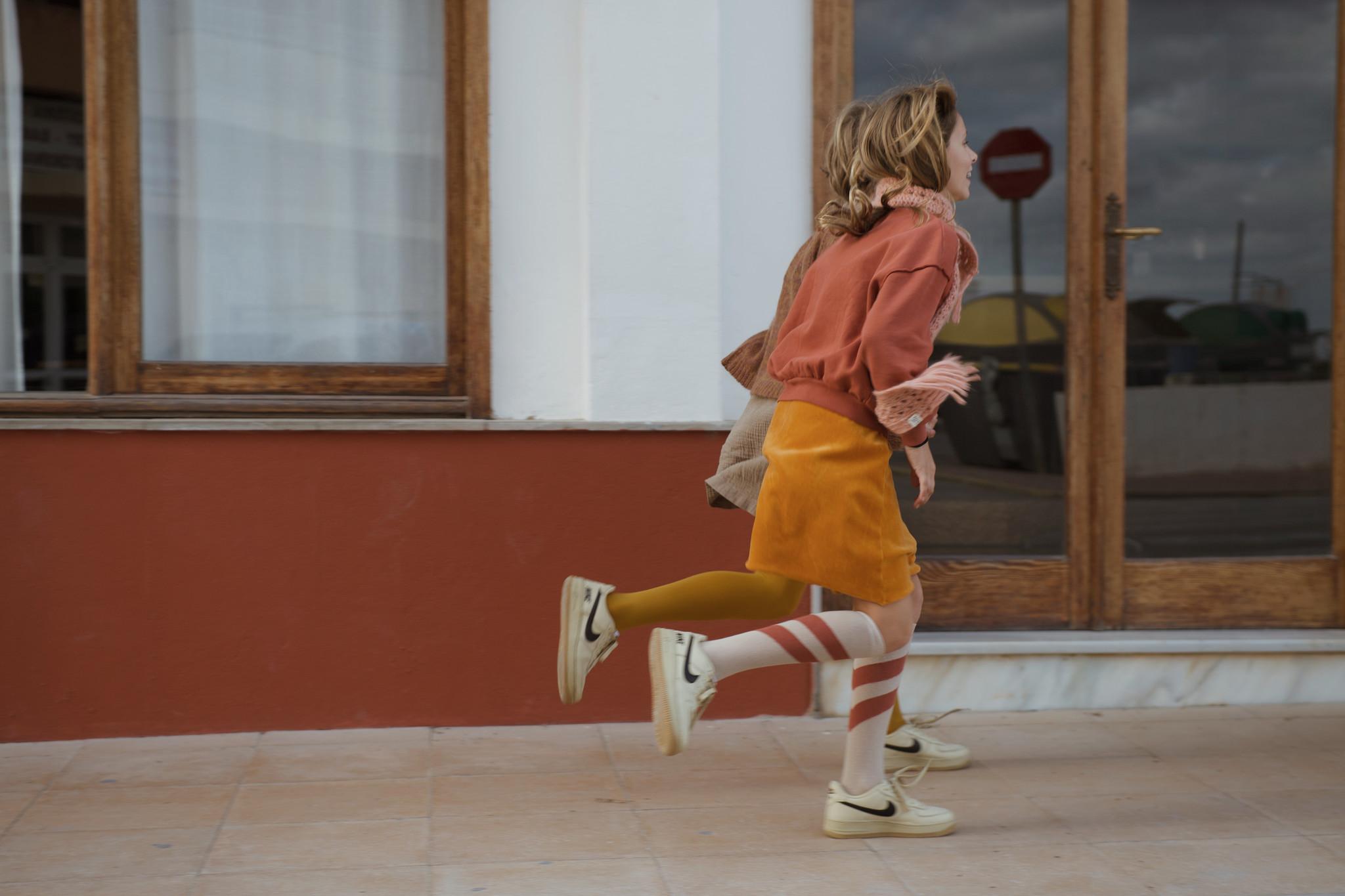 Skirt Velvet Inca Gold-4