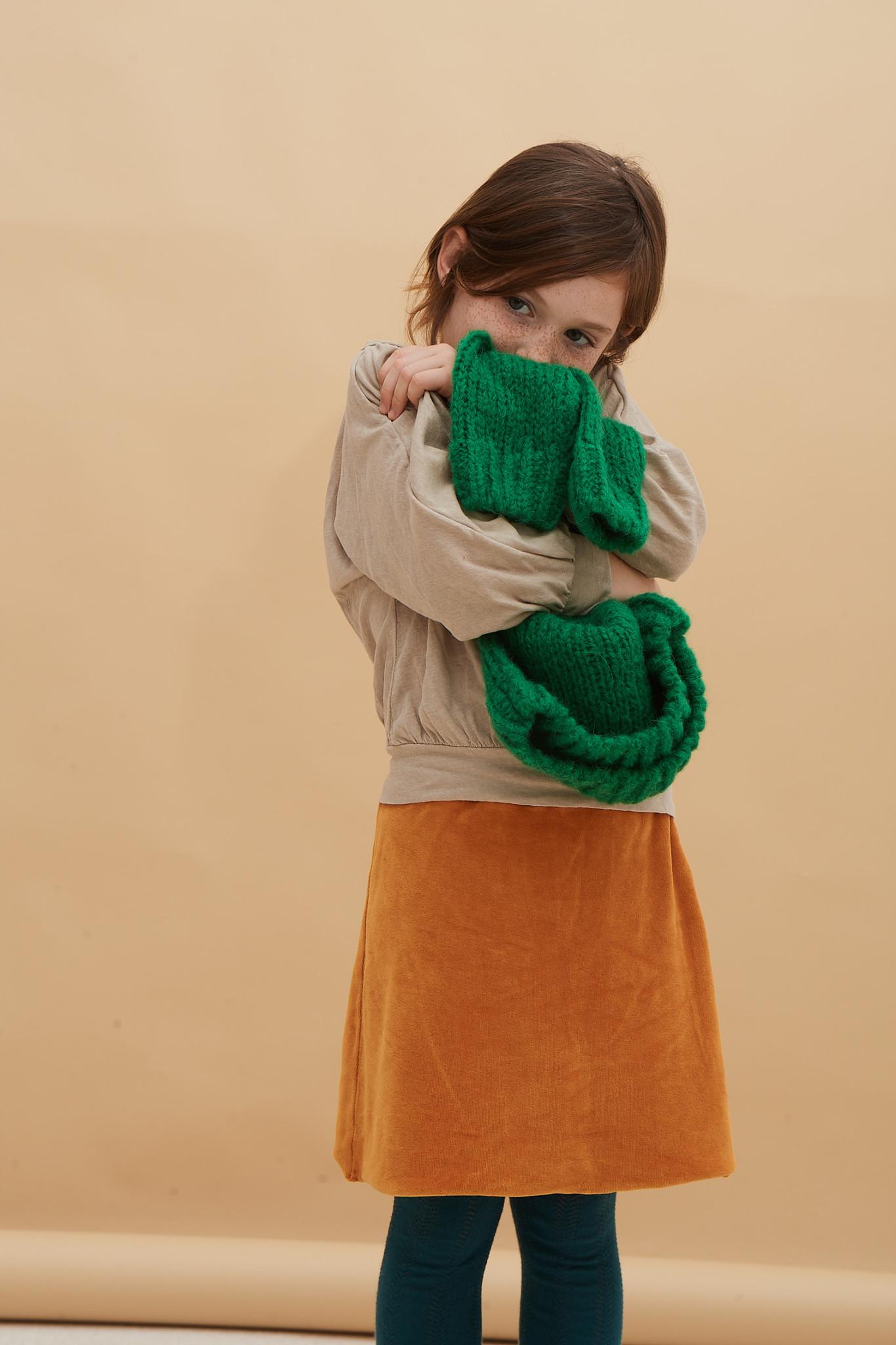 Skirt Velvet Inca Gold-6