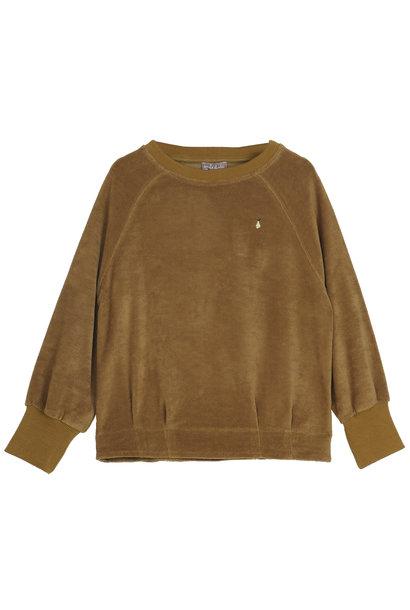 Sweatshirt Velvet Ecorce