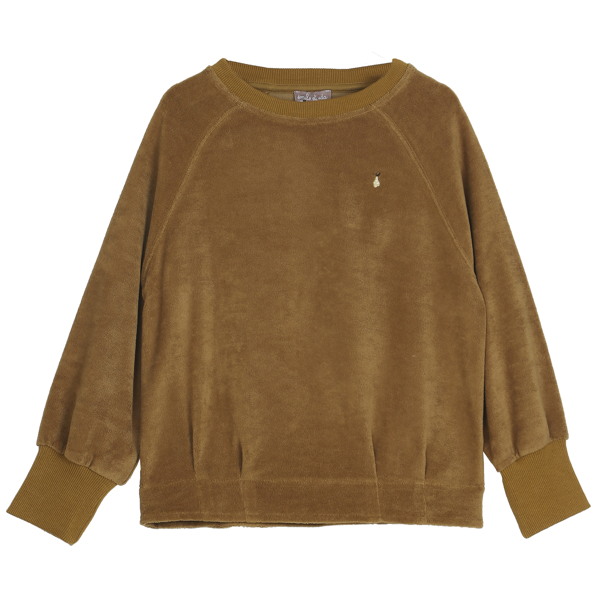 Sweatshirt Velvet Ecorce-1