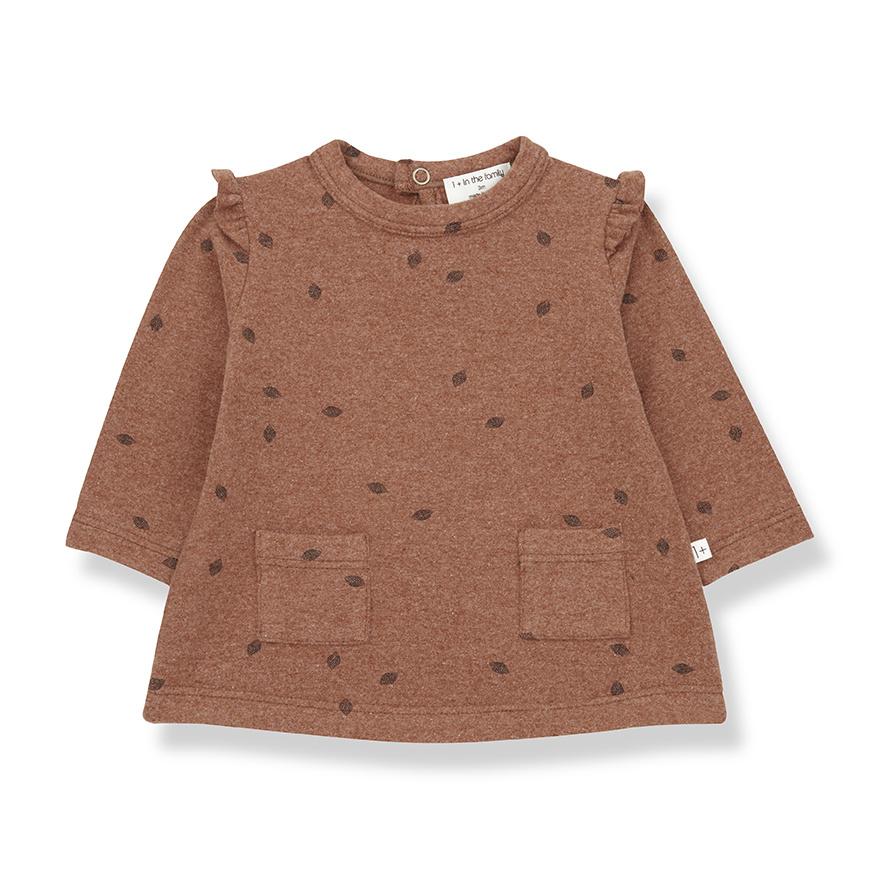 Dress Montarto Toffee-1