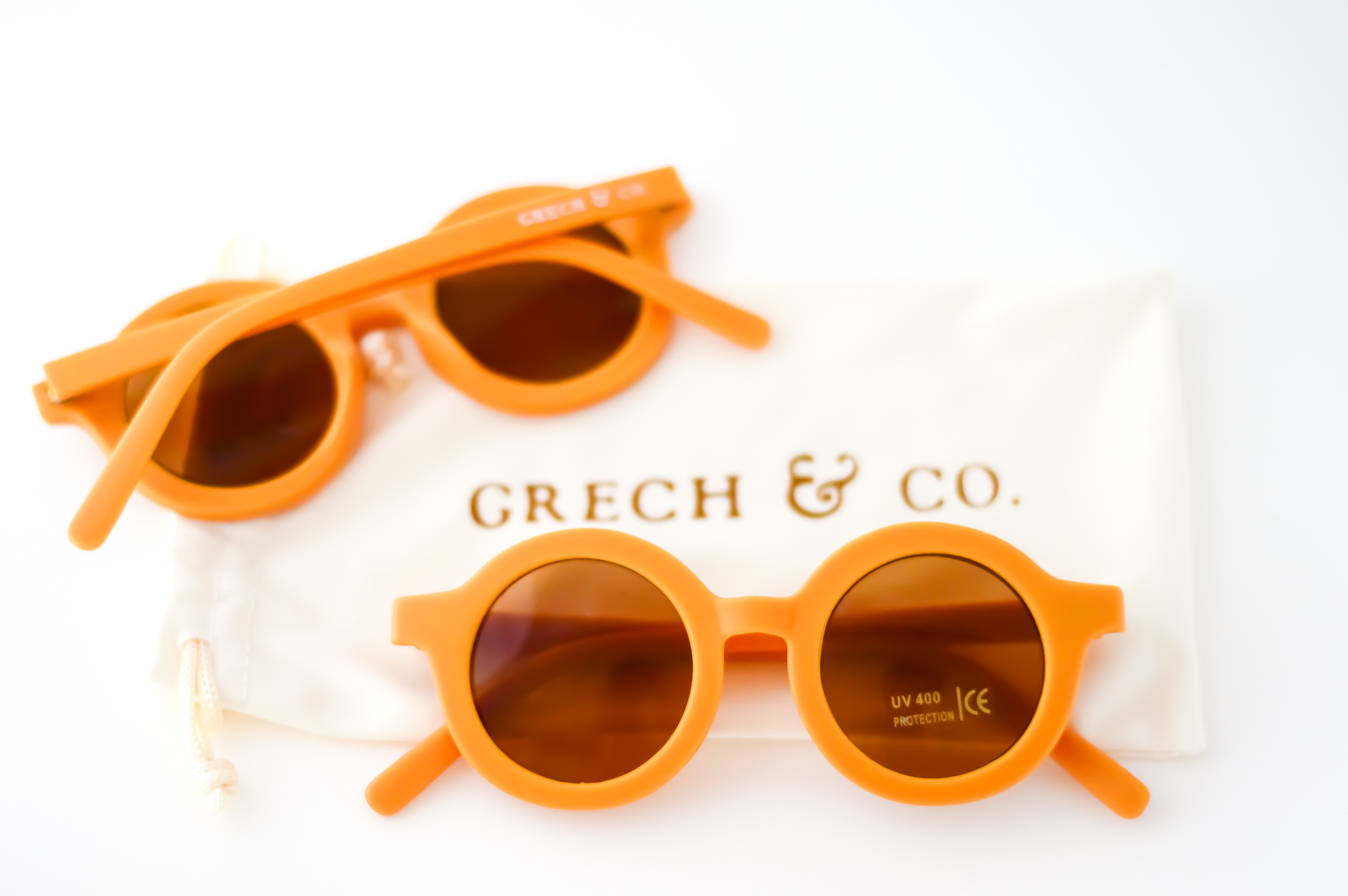 Sustainable kids sunglasses - Golden-1