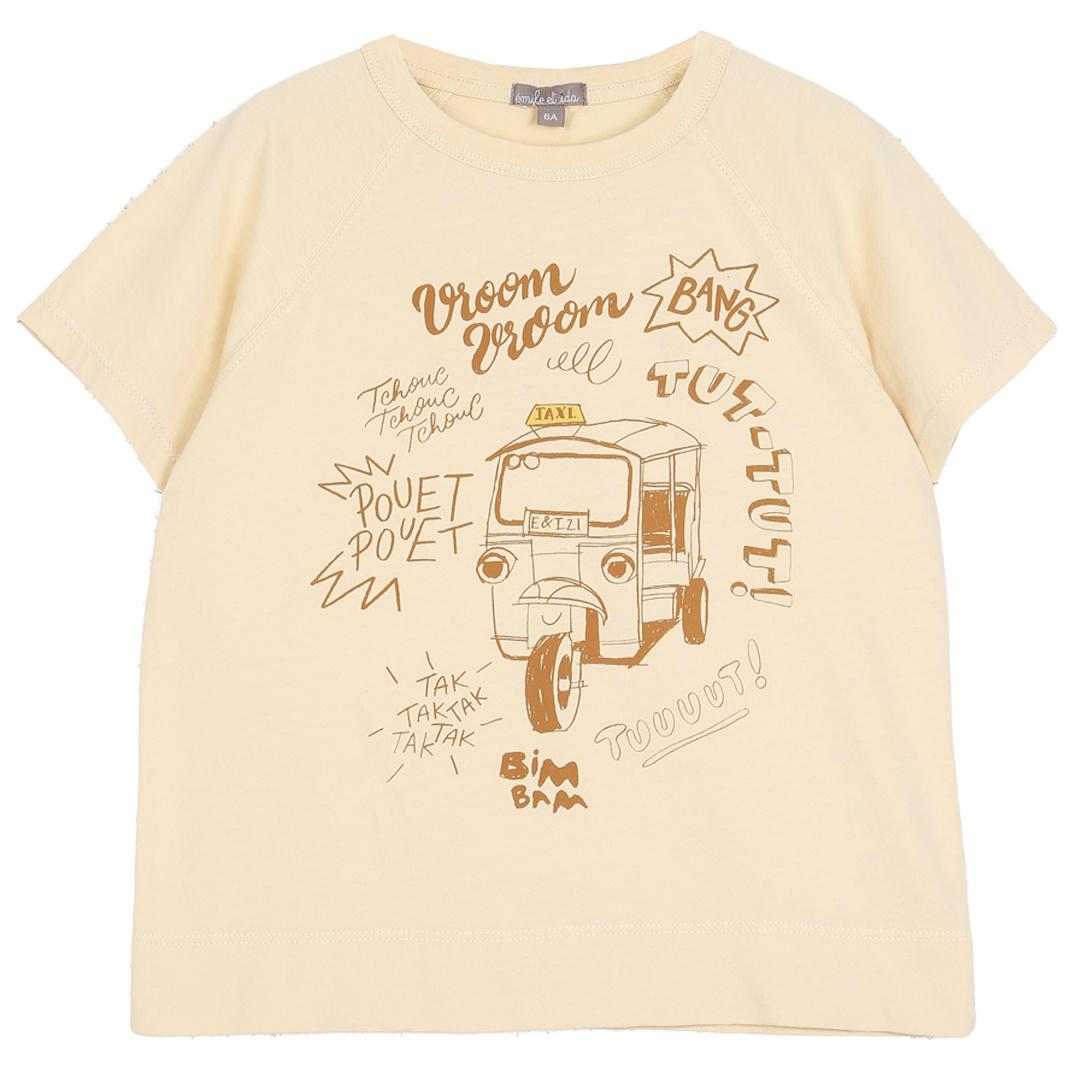 T-Shirt Vanille-1