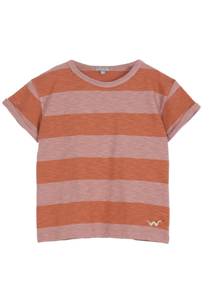 T-shirt Terre-Orange