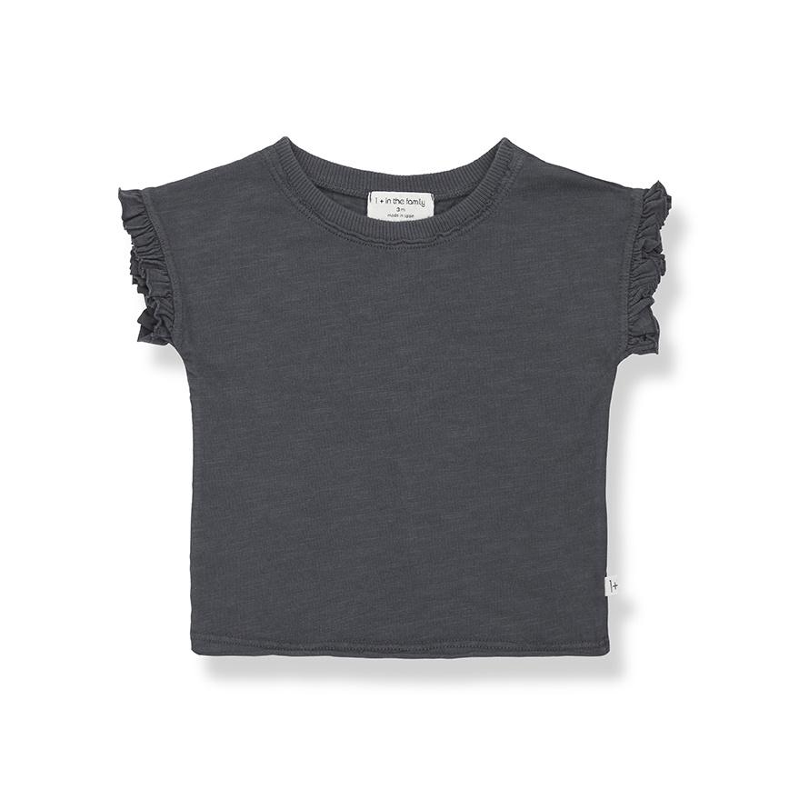 T-shirt Mireia Anthracite-1