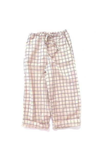 Pants Purple Check