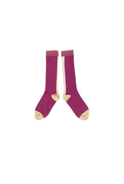 Sokken Purple
