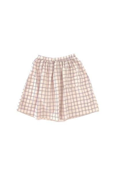 Skirt Purple Check