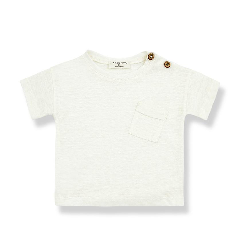 T-shirt Gabriel Ecru-1