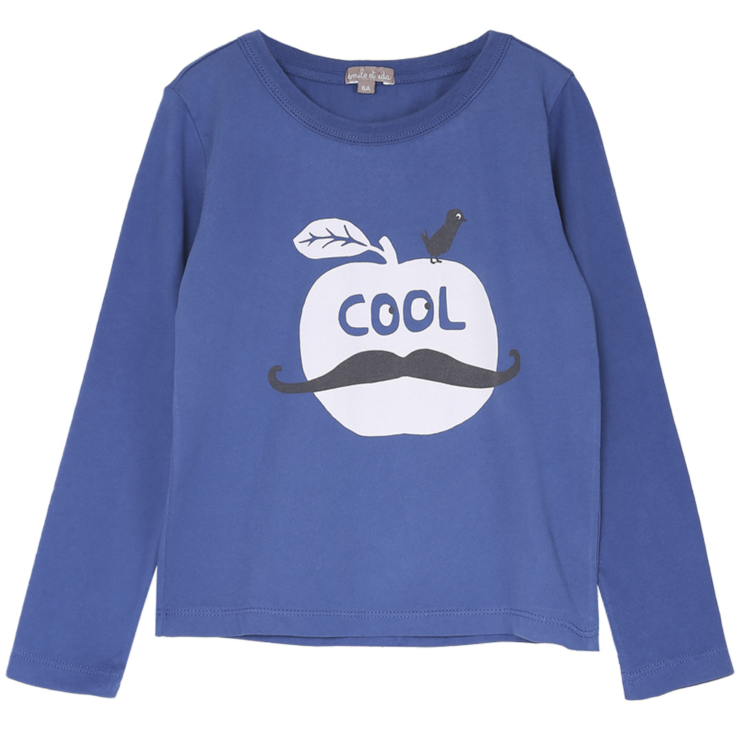 T-shirt Kobalt Pomme-1