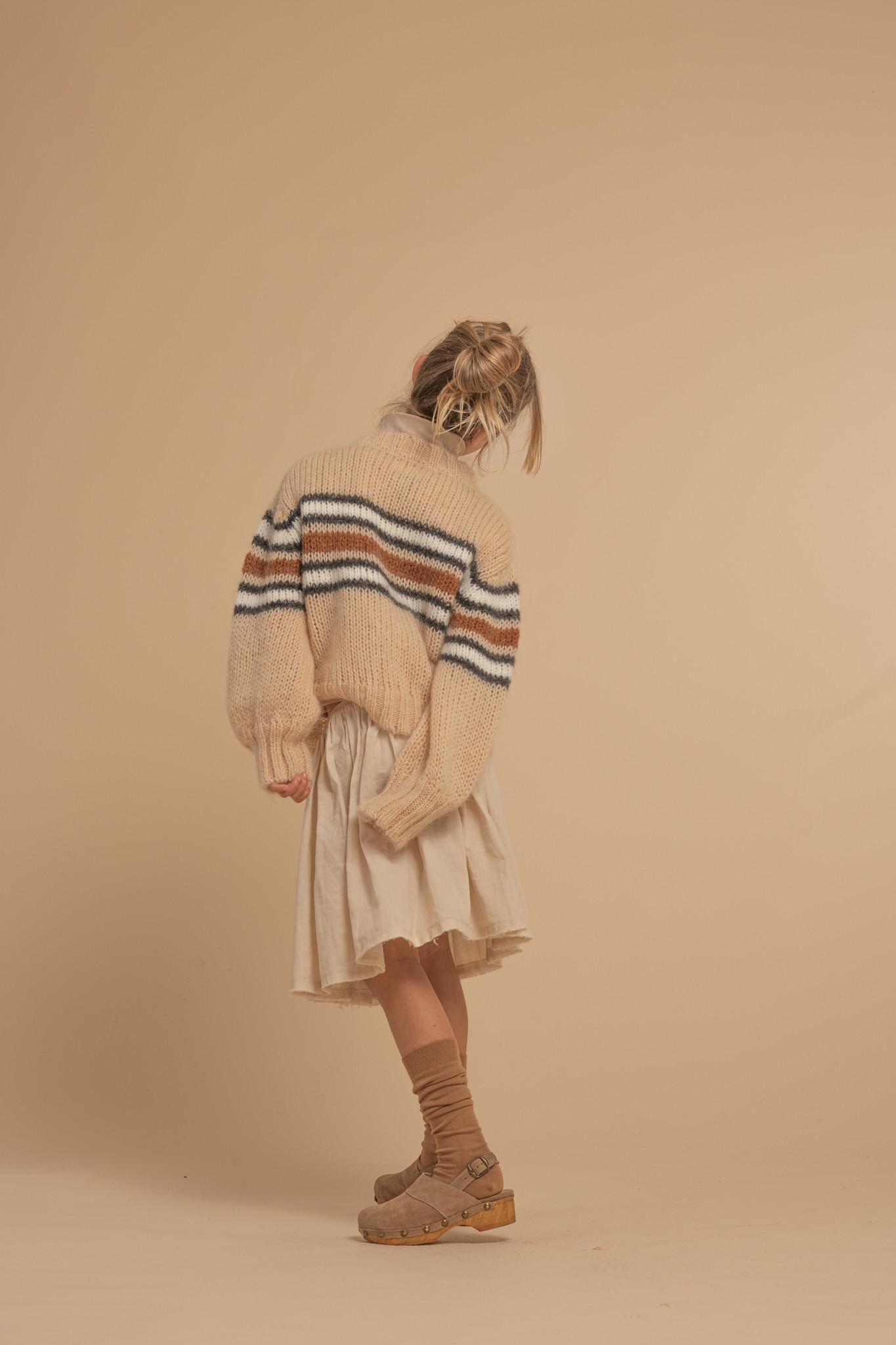 Sweater Natural Stripe-4