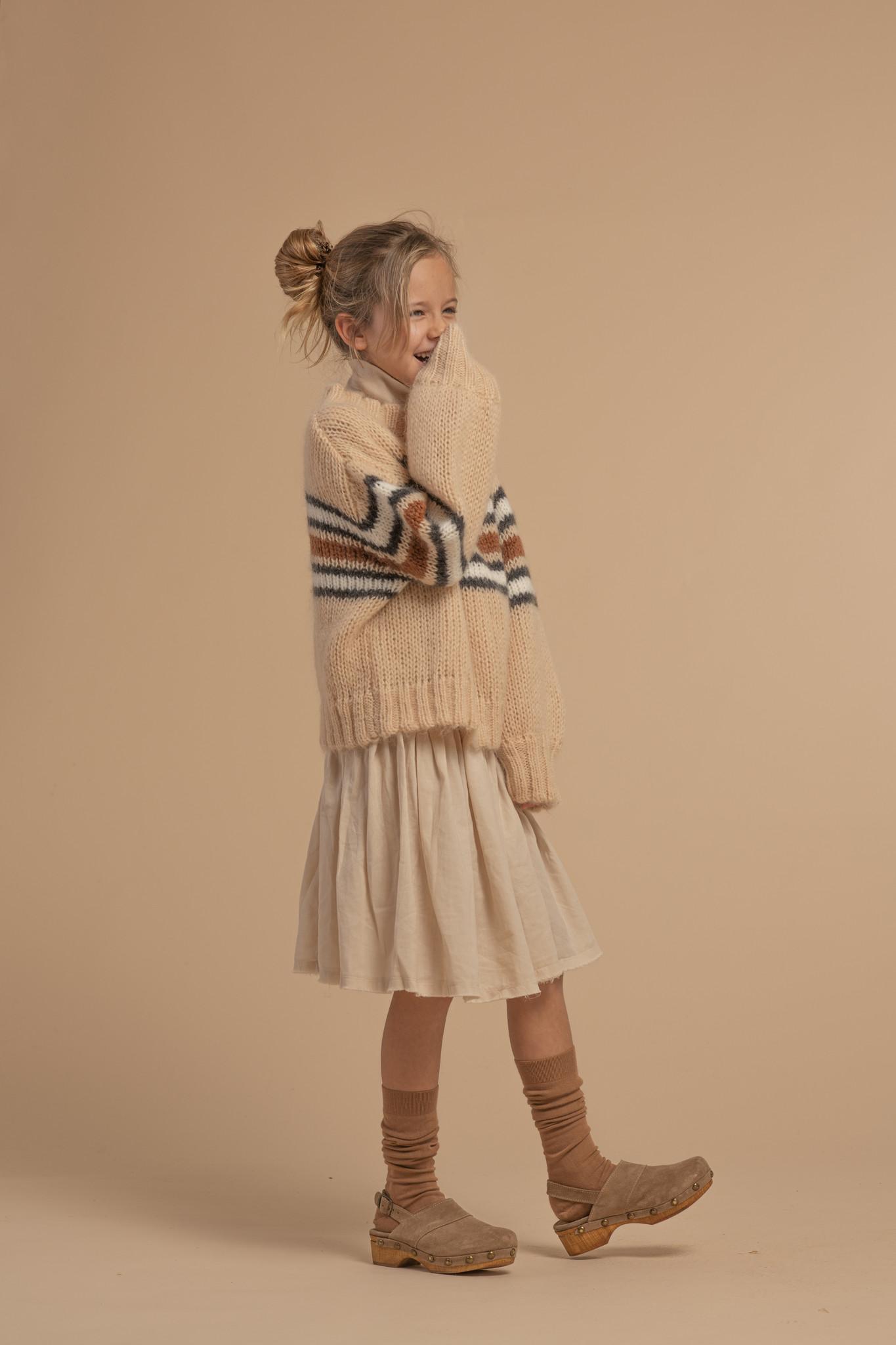 Sweater Natural Stripe-2