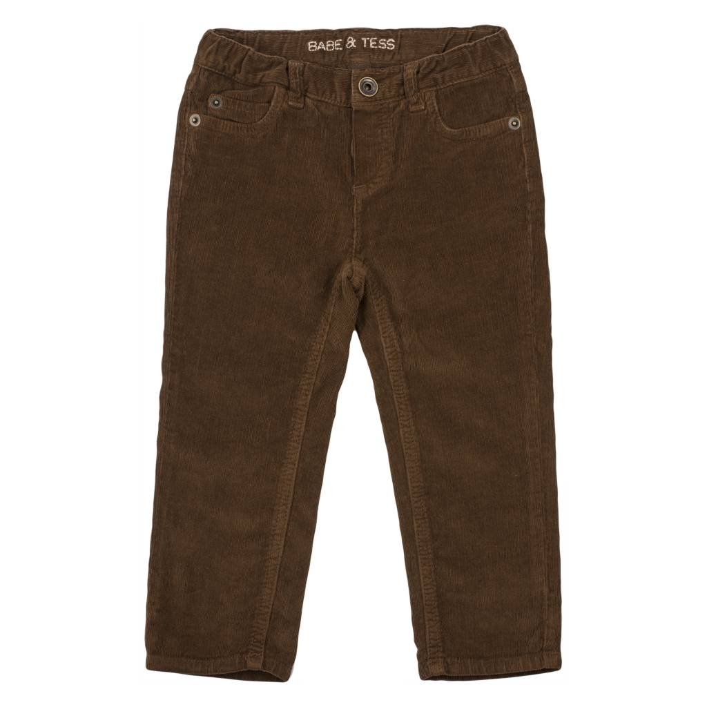 Pants Maschio Slim Curry-1
