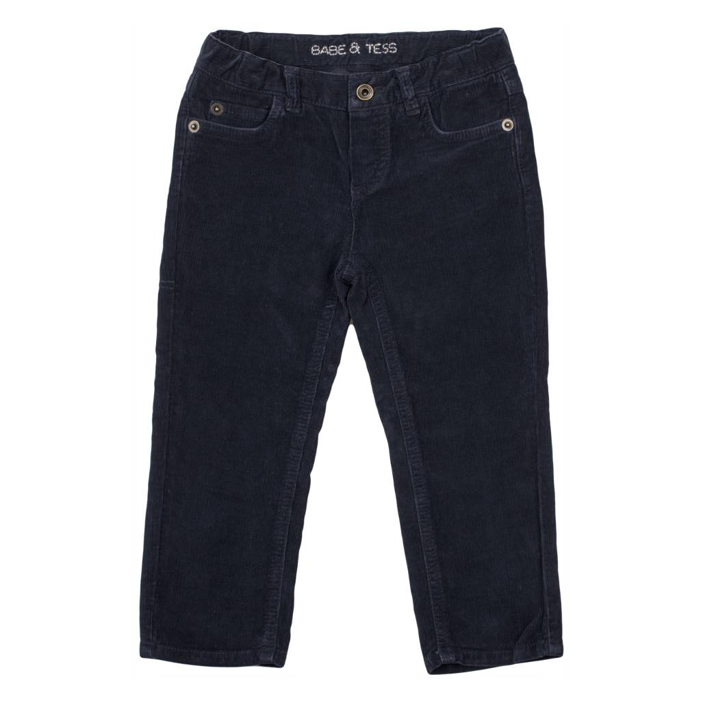 Pants Maschio Slim Indigo-1