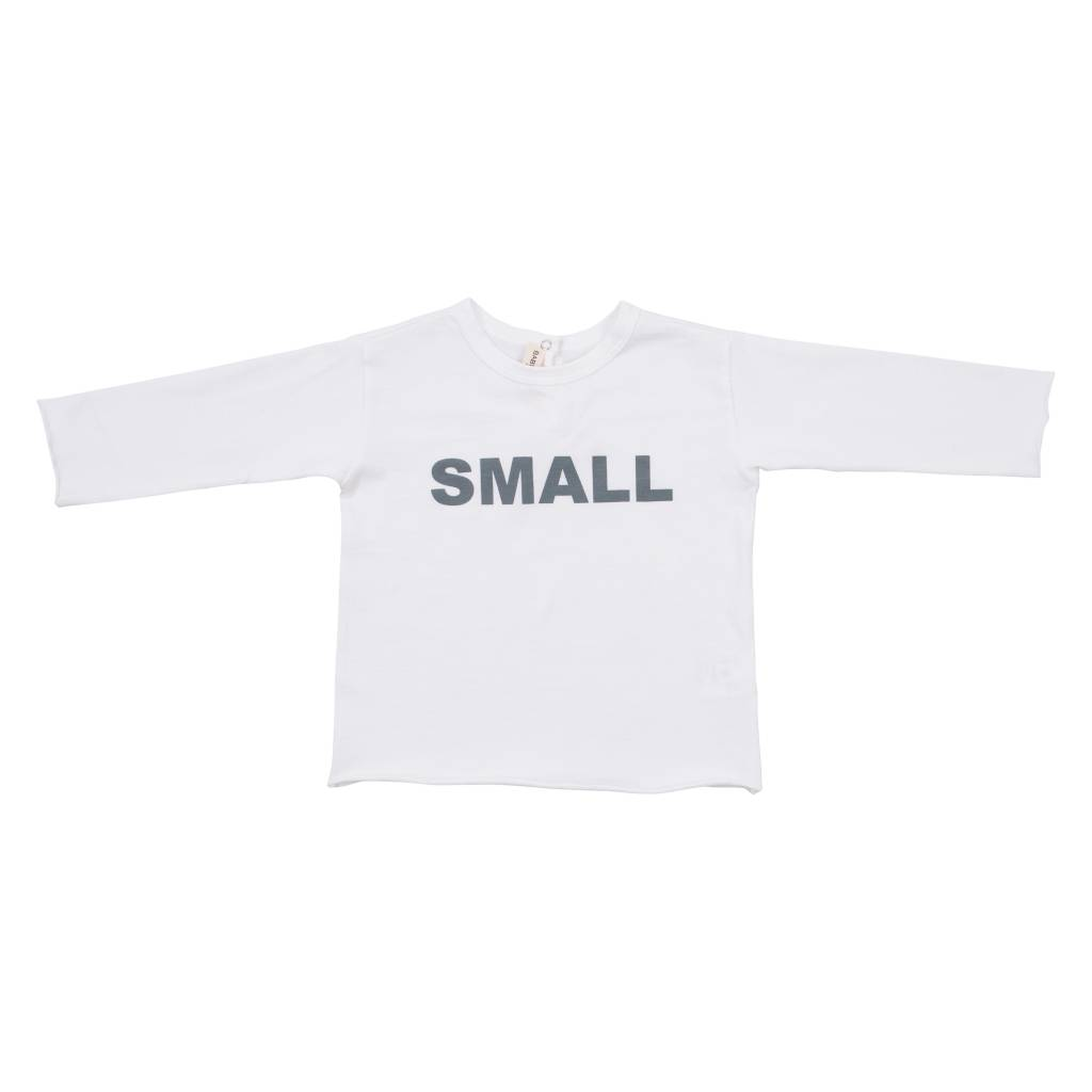 5e15c864 T-shirt Bianco Stampa Azurro - Fie & Vic - Smart brands for little ones