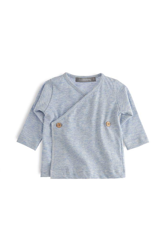 T-shirt Maria light blue-1