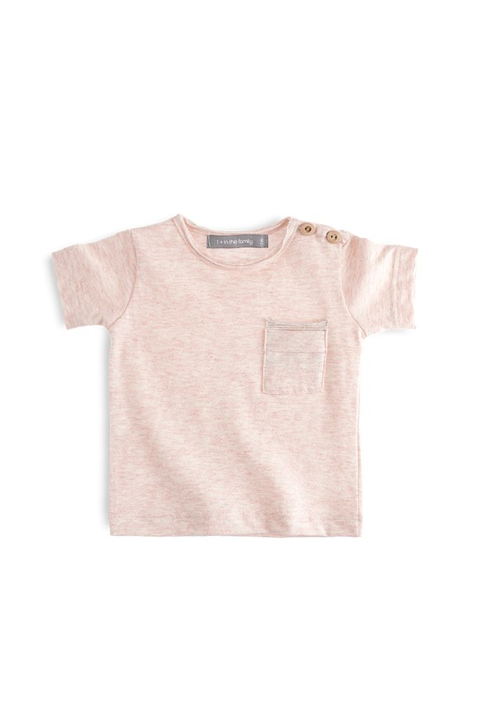 T-shirt Sacha Rose-1