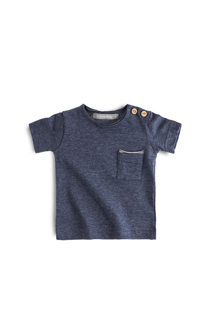 T-shirt Sacha Denim-1