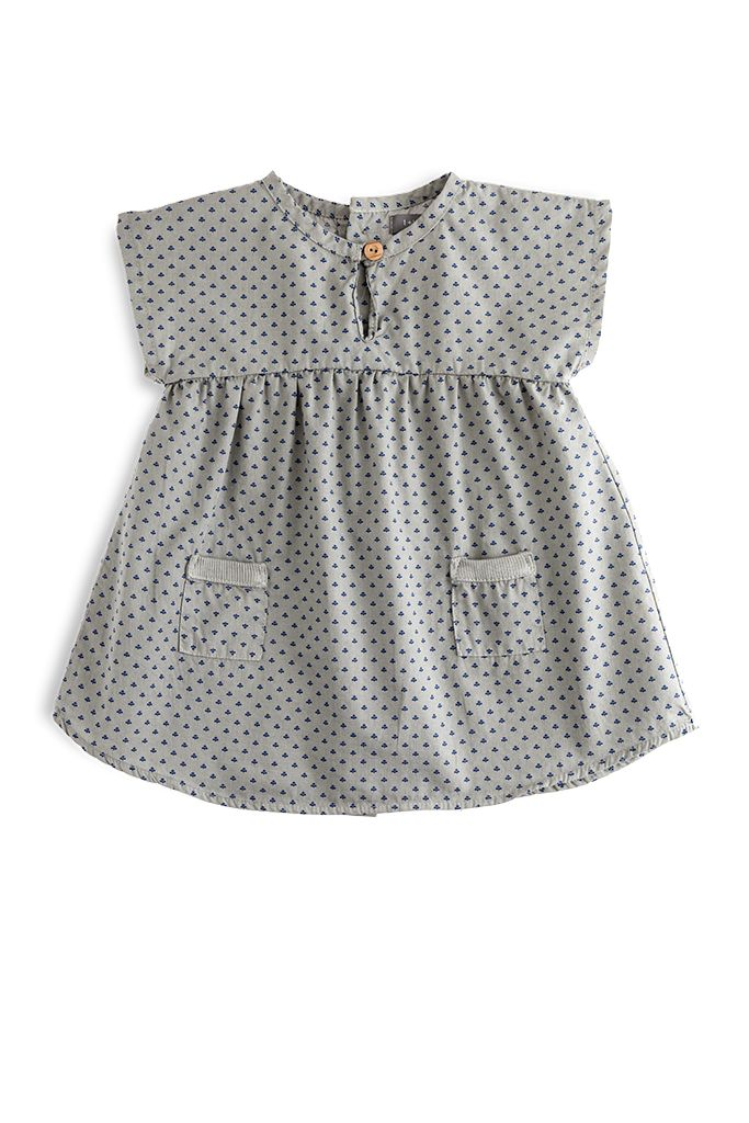 Dress Monica Grey-1