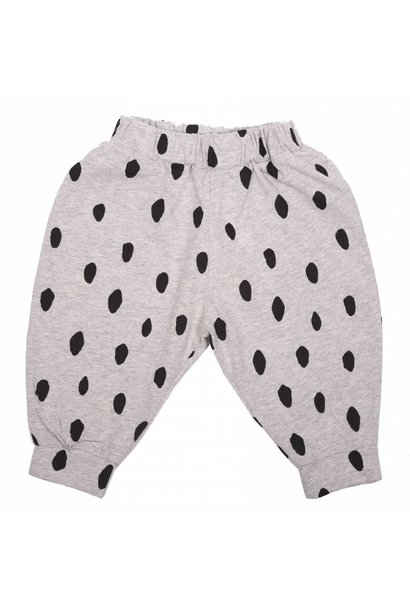 Trousers Gris Chine Taches