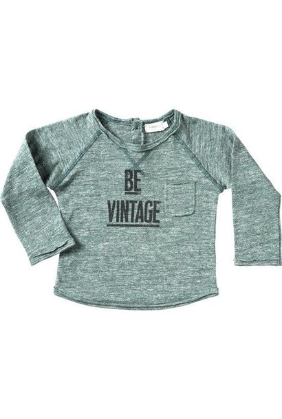 T-shirt Be Vintage - Green