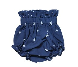 Mi Pequeño Lucas Blue diapers pants with white stars