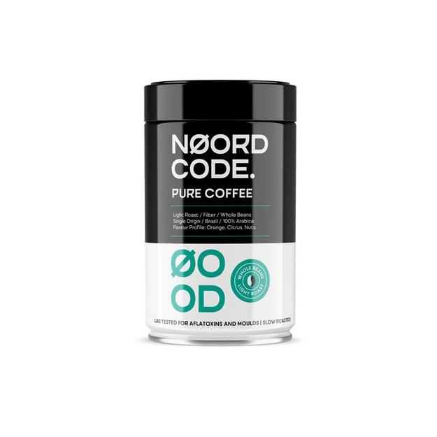 NoordCode Pure Coffee Light Roast Whole Beans