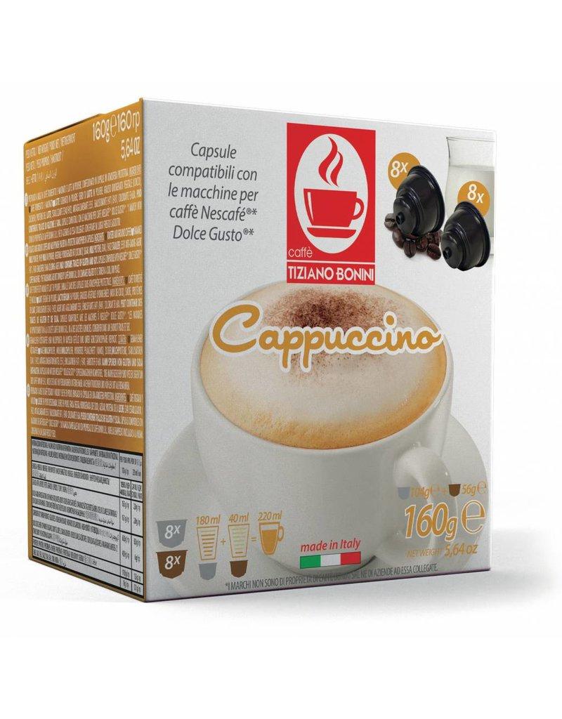 Caffè Bonini DOLCE GUSTO - CAPPUCCINO - 16 capsules